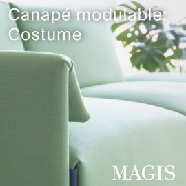 Magis chaise empilable bell